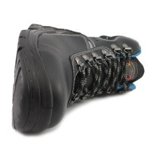 2018 Venta caliente Zapatos de seguridad de cuero de alta calidad con certificación CE