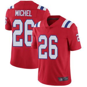 Hombres Mujeres Jóvenes Patriot Jerseys 26 Sony Michel Marina jersey blanco rojo