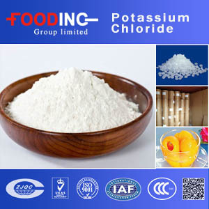 Chloride het van uitstekende kwaliteit van het Kalium van de Rang van het Voedsel