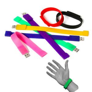 Pulsera de goma suave memoria Flash USB Stick Custom símbolo de regalo una unidad flash USB Memory Stick