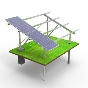 Structure en acier d'énergie solaire à fente C Canal U pour rack de montage solaire Purline