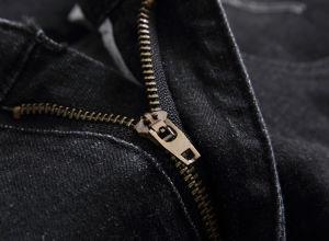 Elastico dimagrire il nero adatto distrugg i jeans di Shorts del denim degli uomini