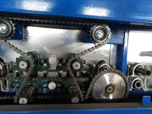 수평한 유리제 청소 기계 세탁기