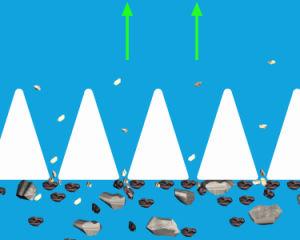 모래 통제 존슨 쐐기(wedge) 철사 기름 우물 - 스크린 관