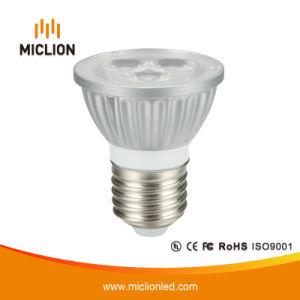 E27 LED 4.5W Plata Foco con CE
