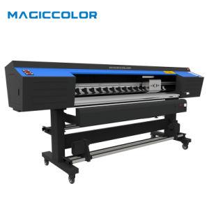 1.9m Large Format Digital Flex Printing Machine met 2PCS XP600 Printhead