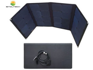 Laminado de ETFE Sunpower 100W de bolsillo plegable Cargador Solar con Mc4 Conector (FSS-100)