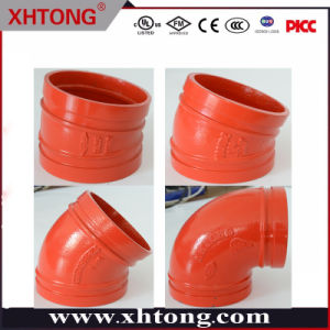 La norma ASTM Codo de 45 grados de montaje del tubo de hierro dúctil para suministro de agua