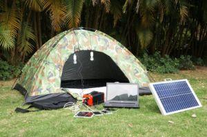 Generatore solare portatile leggero esterno di energia solare della centrale elettrica