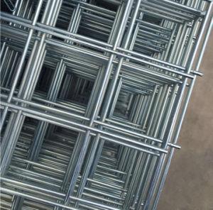 工場によって溶接される金網のパネル