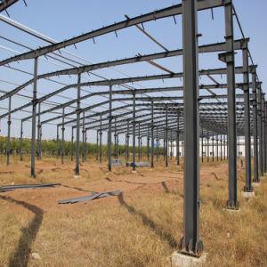 El aislamiento térmico la construcción de la estructura de acero prefabricados