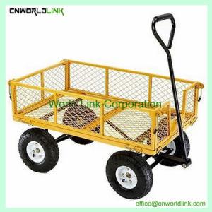 熱い販売のFoldable鋼鉄網のヤードワゴン