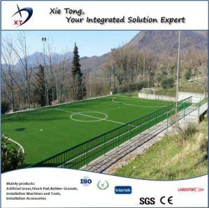 11X11 de las personas de todo el sistema de Campo de fútbol de césped artificial con Shock Pad y Infills