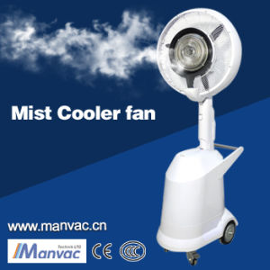 Certificação Ce umidificadores de neblina de água nebulizada Foggy Ventilador de Refrigeração