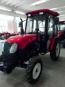 Una buena calidad 50 HP Tractor agrícola 4WD con cabina