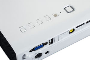 Konkurrenzfähiger Heimkinoportable-Projektor Preis-Laser DLP-3D Mini