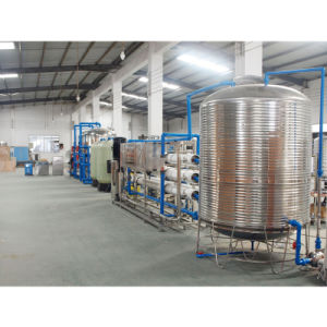 De volledige Automatische Eenheid van de Behandeling van het Water van het Roestvrij staal RO