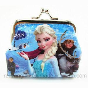 아이 Frozen Elsa Coin Wallet, Children를 위한 Mini Coin Purse