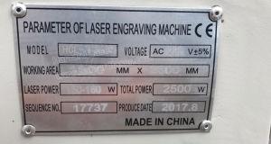 عمليّة بيع حادّة صناعيّة [كنك] [ك2] ليزر زورق آلة ([هل-ب])