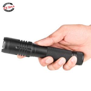 USB Entrada/Salida magnético de alta potencia linterna recargable