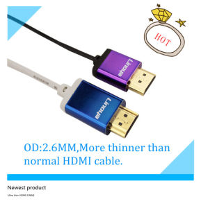Gold Plated Ultra Thin HDMI Cable morgens zu morgens