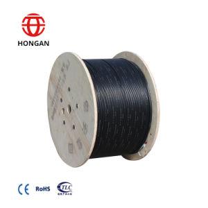 Hilados de vidrio de 4 núcleos de G652D Cable de fibra óptica Gyfy