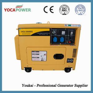 Moteur électrique insonorisées 3kVA Groupe électrogène de puissance du générateur