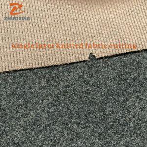 コンピュータ化されたLeather/PU/Fabricは打抜き機を作るライニングに蹄鉄を打つ