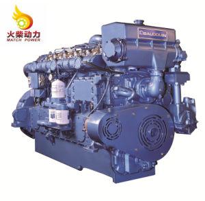 Alta qualidade 1800rmp 550HP Barco Weichai Motor Motor Marítimo com CCS