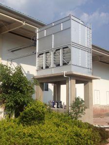 高性能の低温貯蔵部屋および送風フリーズ装置のための蒸気化のコンデンサータワー