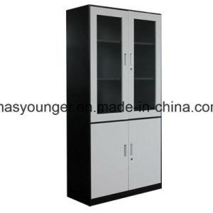 اقتصاديّة [توو-تون] [سمي-غلسّ] فولاذ مكتب تصنيف عرض تخزين معدن مبرد [بووككس] خزانة قابل للإقفال