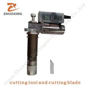 Tagliatrice della lama di vibrazione per la stuoia 2516 del piede della bobina del PVC