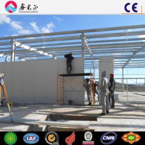 Edificio de la estructura de acero, Wokeshop, almacén para modificado para requisitos particulares (SS-55)