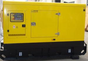 30kVA Cummins diesel de 24 kw generador silencioso Super grupo electrógeno de dosel