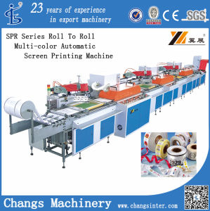 Fita para impressora de tela/acetinado/Fabric/Non-Woven/Etiqueta de roupa/PP, PVC, PE, as películas PET (serigrafia silkscreen) Máquina de impressão