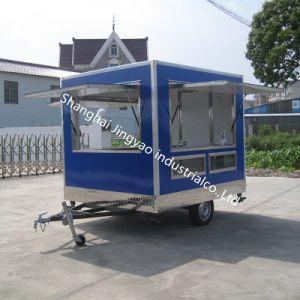 通りジュースの販売はアイスクリームのアイスキャンデーのカートのバイクの食糧カートを運ぶ
