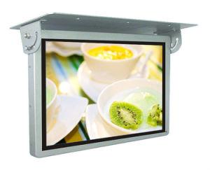 15suspendido del techo del coche/bus/reproductor de publicidad LCD monitor/pantalla/Digital Signage