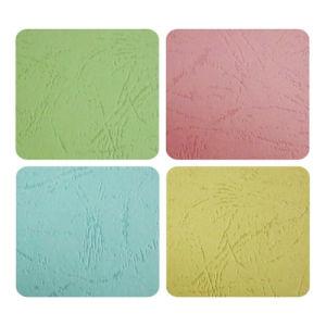 Boa qualidade de grãos de couro Placa de papel com relevo para venda