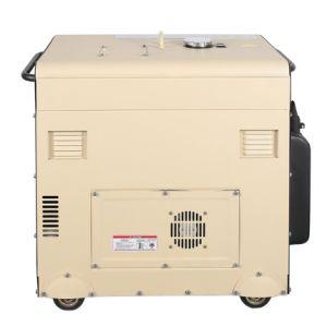 5kw 공냉식 방음 침묵하는 디젤 엔진 발전기