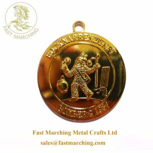 Il metallo su ordinazione della collana del medaglione dell'oro dei nastri scherza le medaglie per gli sport