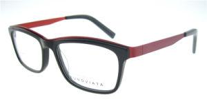 Occhiali unici della lettura dell'acetato dell'estremità superiore di vetro del telaio dell'ottica di stile