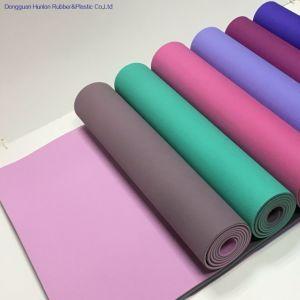 Gimnasia Yoga Mat TPE Espuma de célula cerrada estera del yoga