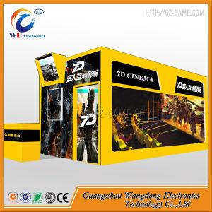 Электрический привлекательной 5D 7D интерактивный мобильный кинотеатр с оружием