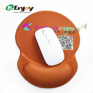 2018 Novo logotipo personalizado Promocional Pouplar Mouse pad Gel impresso com o punho restante