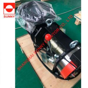 L'élévateur de la courroie de la machine de traction Gearless Sn-Fxpd100, moteur de levage