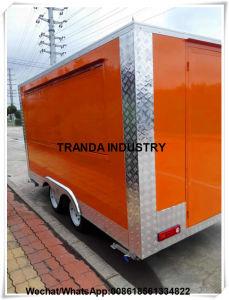 Caffè standard 2017 dei Mobiles di Remorque Caravane dello spuntino della Nuova Zelanda Van