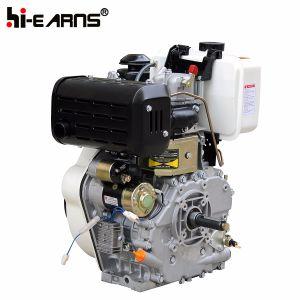 12HP de Dieselmotor van de Schacht van de Spiebaan van het begin (HR188FA)