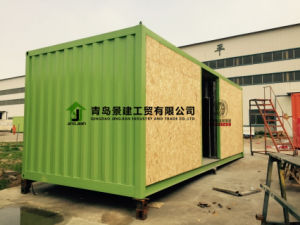 Estructura de acero contenedores modulares edificio de oficinas