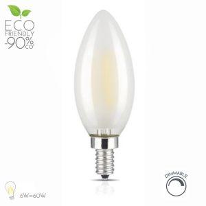 Dimerizável 4W E14 Vela lustre a Lâmpada LED