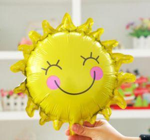 De in het groot het Glimlachen van de Gift van de Decoratie van het Huwelijk van de Partij Ballon van de Folie van het Gezicht